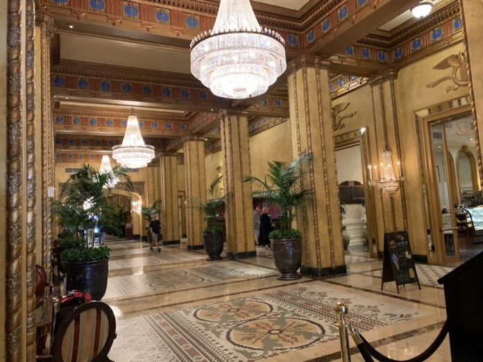 Lobby of The Roosevelt