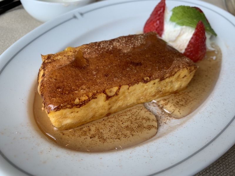The best french toast I've ever eaten