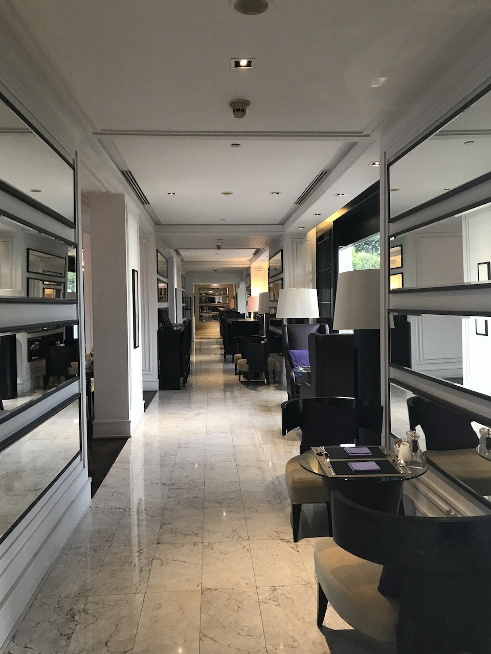 JW Marriott Bangkok executive lounge