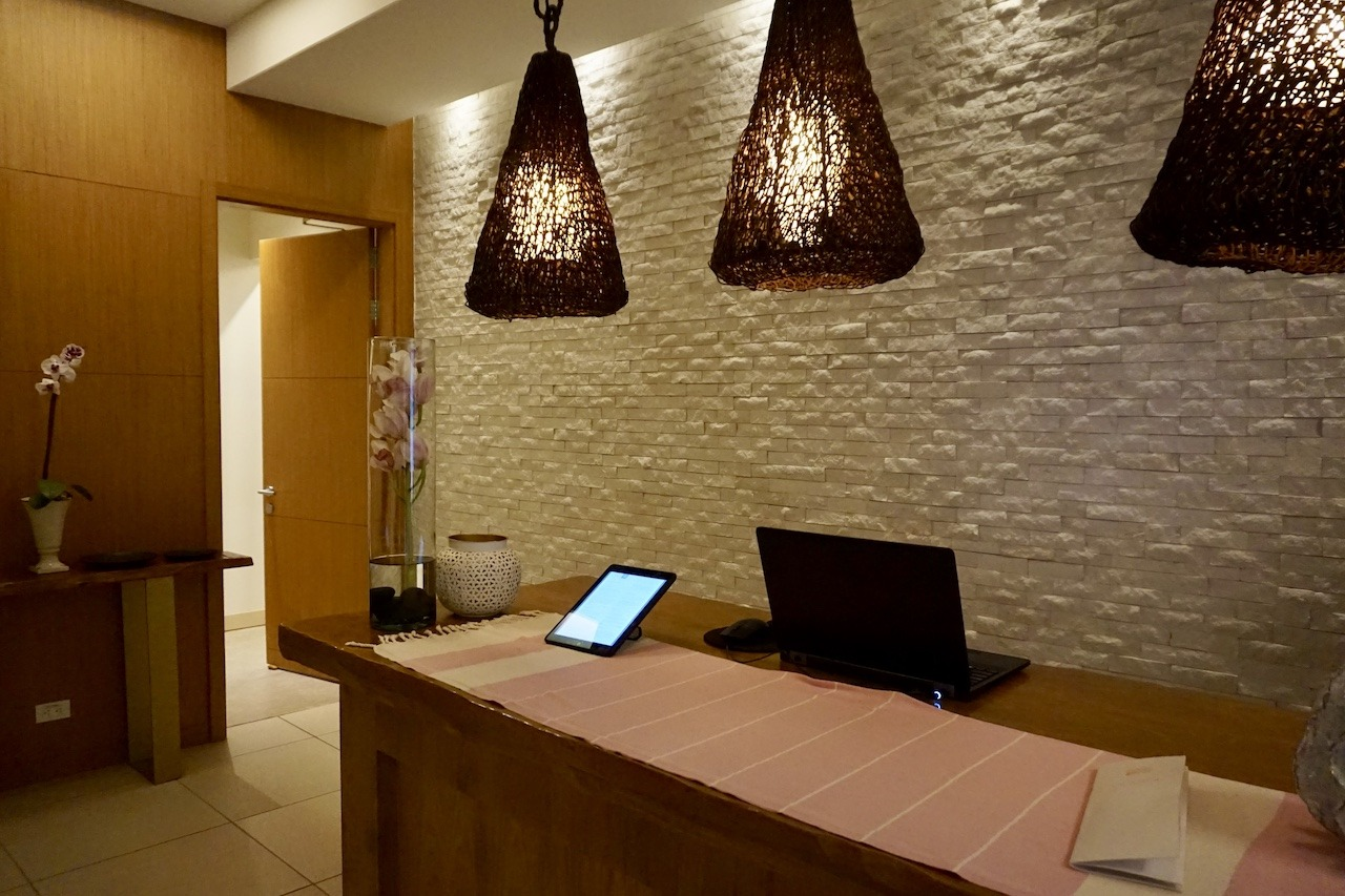 Hyatt Regency Cartagena spa reception