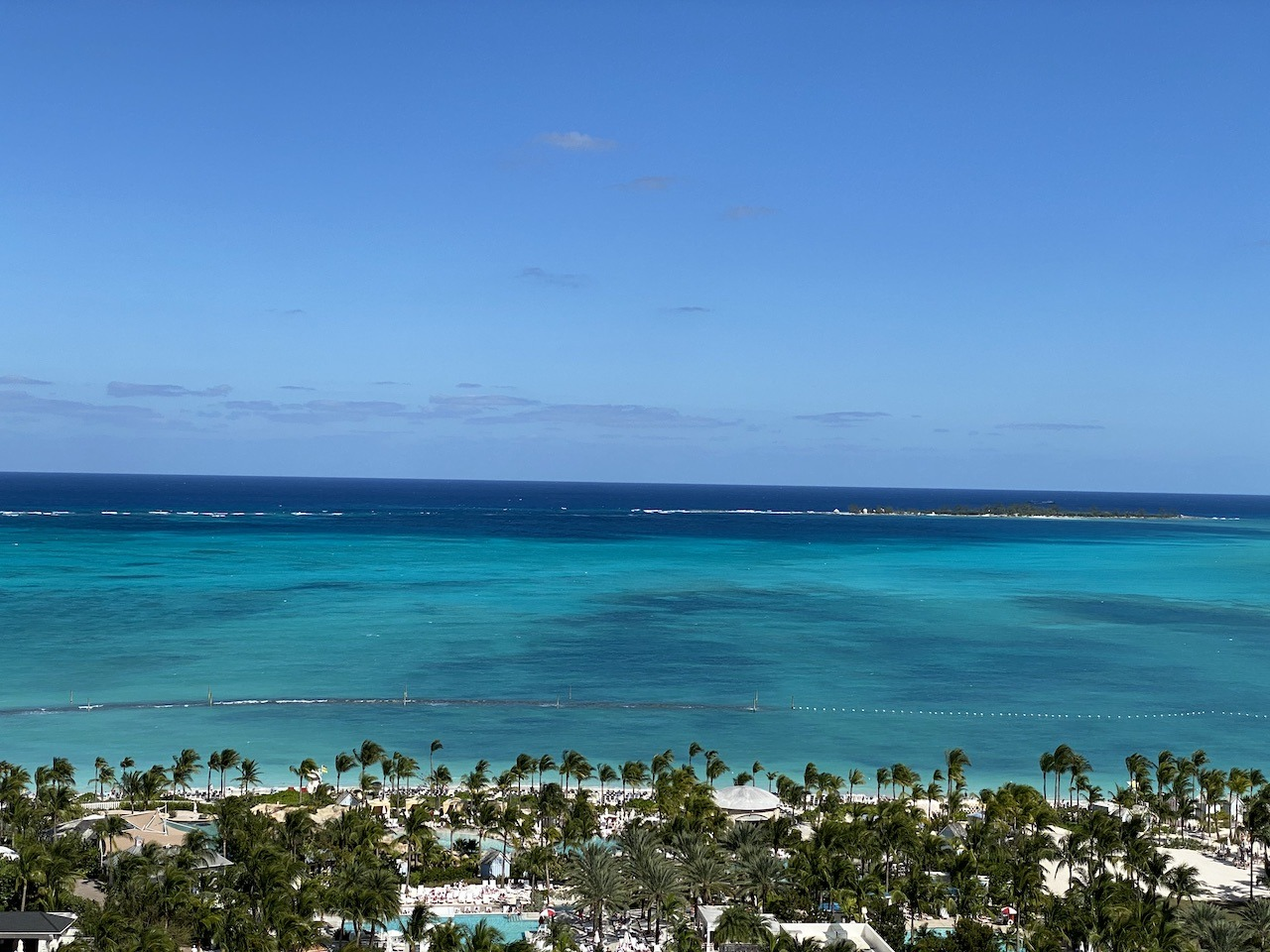 View from the Grand Hyatt Baha Mar suite